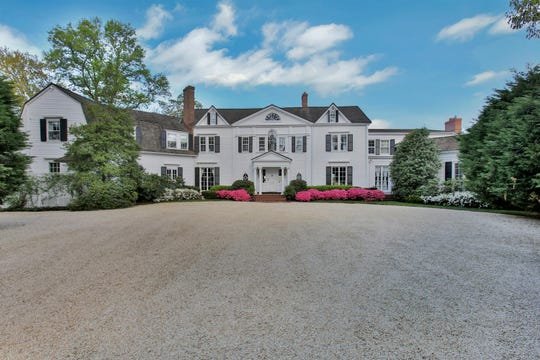 Rumson historic 1900's masterpiece home is at 82 W River Road.