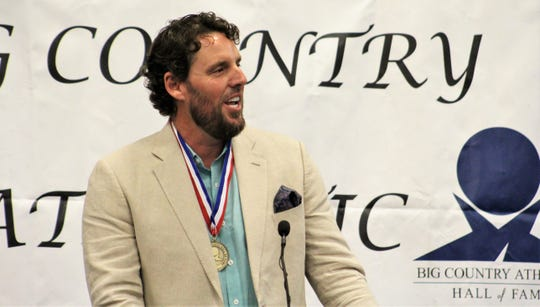 Former Abilene High School athlete and Major League Baseball pitcher John Lackey was honored at the 2019 Big Country Athletic Hall of Fame banquet. This year's event will be in August, due to COVID-19.