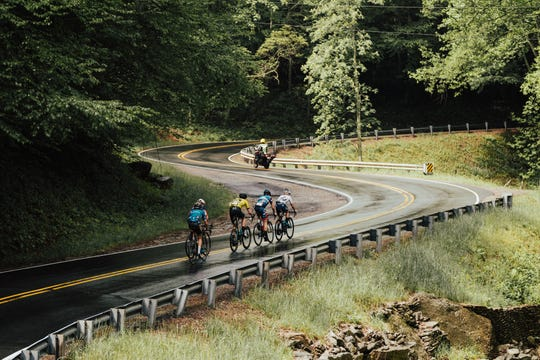 Some 300 cyclists from around the world are expected to compete in the Haute Route Bike Race in Asheville May 17-19. The route includes a stint on the Blue Ridge Parkway.