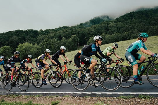 Cyclists from around the world competed in the three-day Haute Route Bike Race last year, which takes place partly on the Blue Ridge Parkway. The race returns May 17-19.