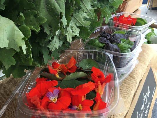 Brighten up a side salad with nasturtiums from Headwaters Market Garden