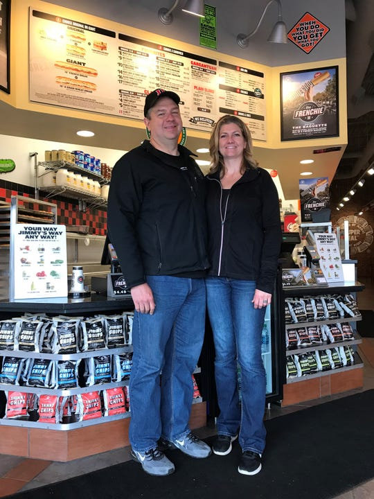 Darren and Barbara Conklin are opening another Jimmy John's location in Battle Creek. The new location will be in downtown and it will open this summer.