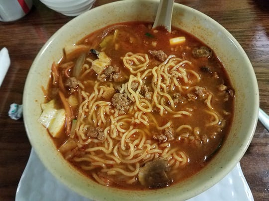 Mike Ellis Humphrey enjoyed the spicy beef ramen at Irashai 2 in Palm Bay.