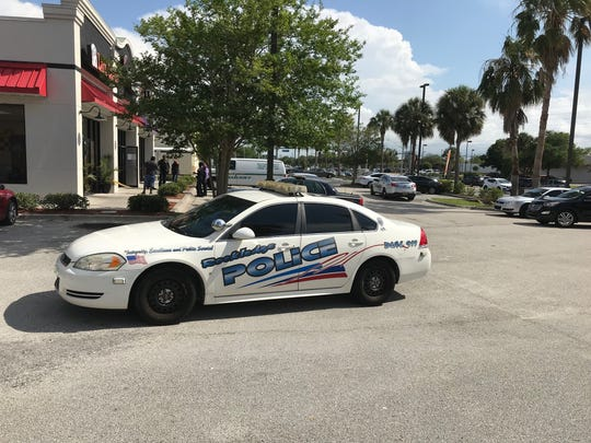 Rockledge police were investigating an incident at a shopping plaza on Tuesday.