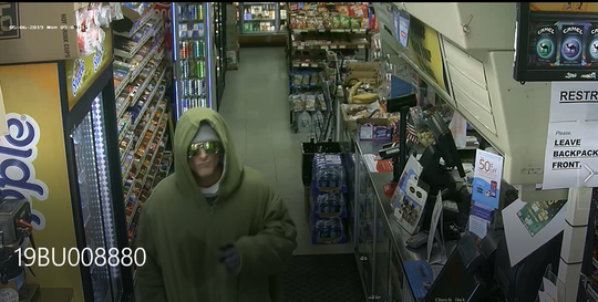 Burlington police are looking for a suspect in an armed robbery that occurred May 6 on South Winooski Avenue.