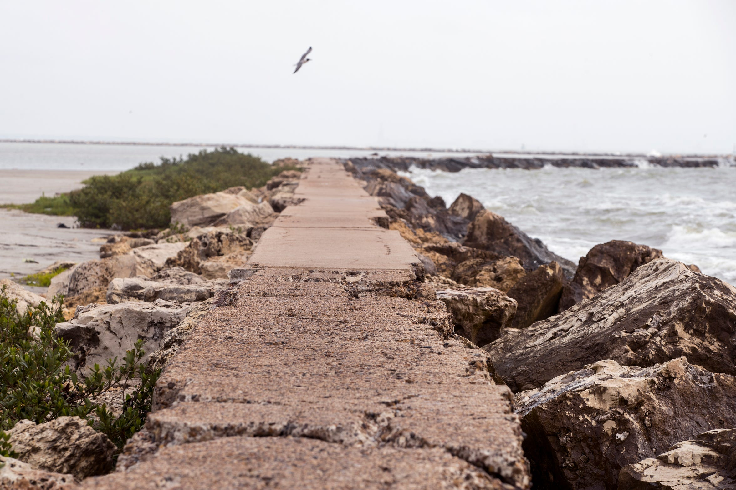 For more than half a century downtown Corpus Christi has been shielded by an intricate flood protection system. The system that includes a breakwater has many pieces that provides 360 degree protection.
