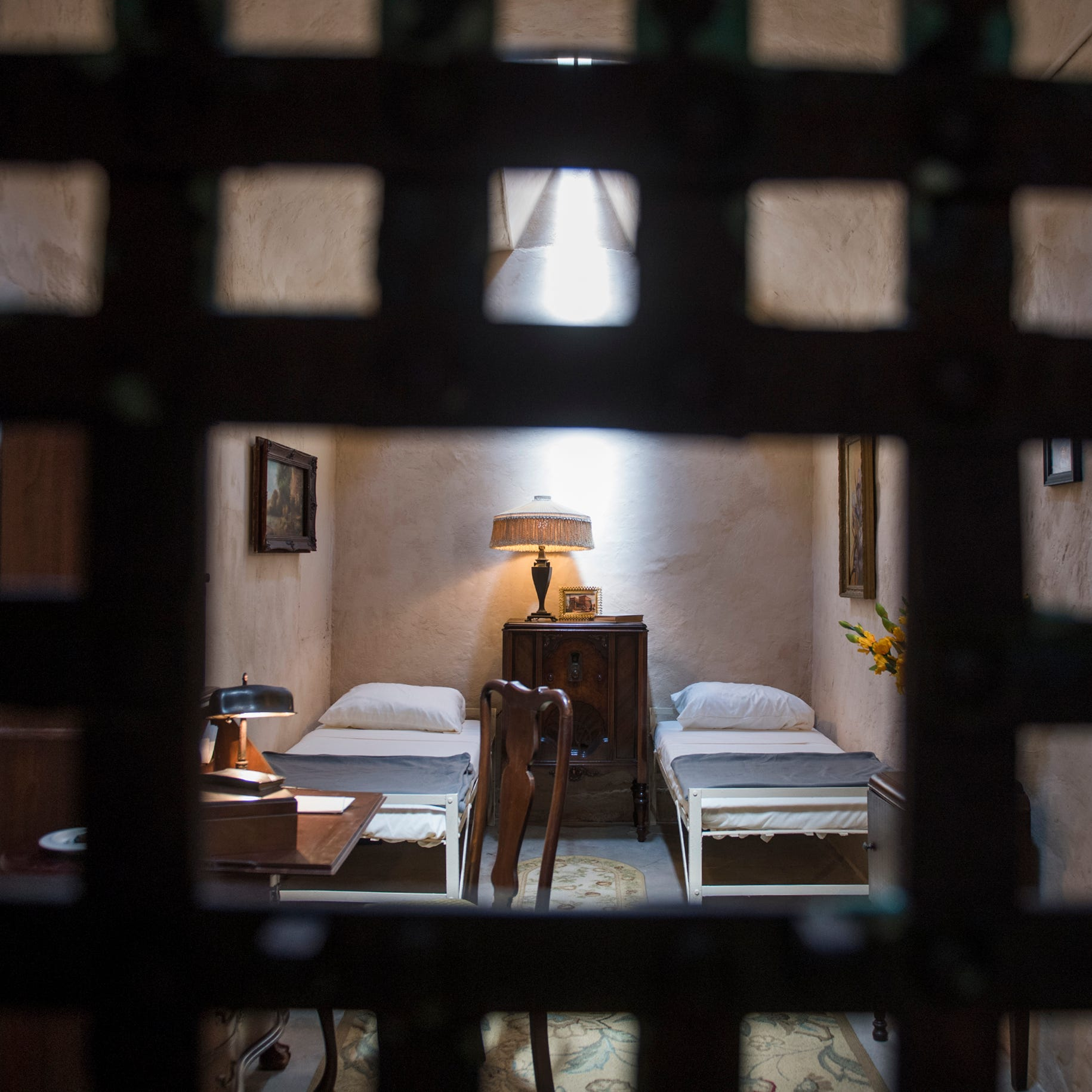 He's been dead for 72 years, but Al Capone just got a cellmate at Eastern State Penitentiary
