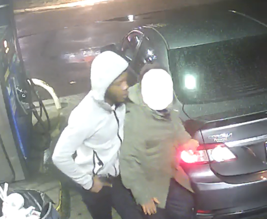 Police are seeking this man in connection with a Jan. 19 robbery at a Pennsauken gas station.