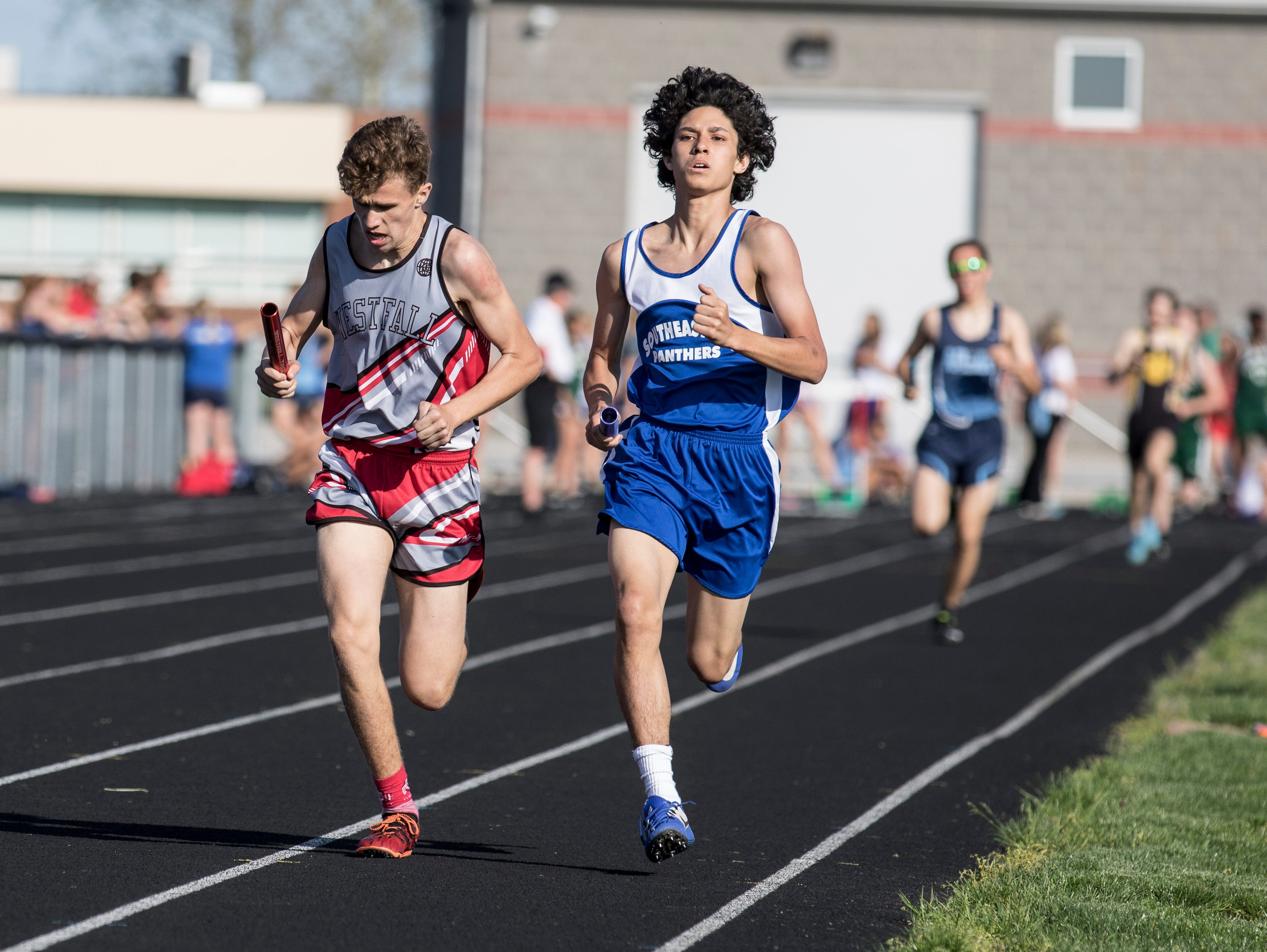 Westfall High School hosted day one of the 2019 SVC Track and Field Championships on Monday, May 6, 2019.