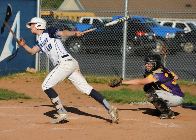 Adena baseball won a sectional semifinal over Portsmouth West 8-5 on Wednesday.