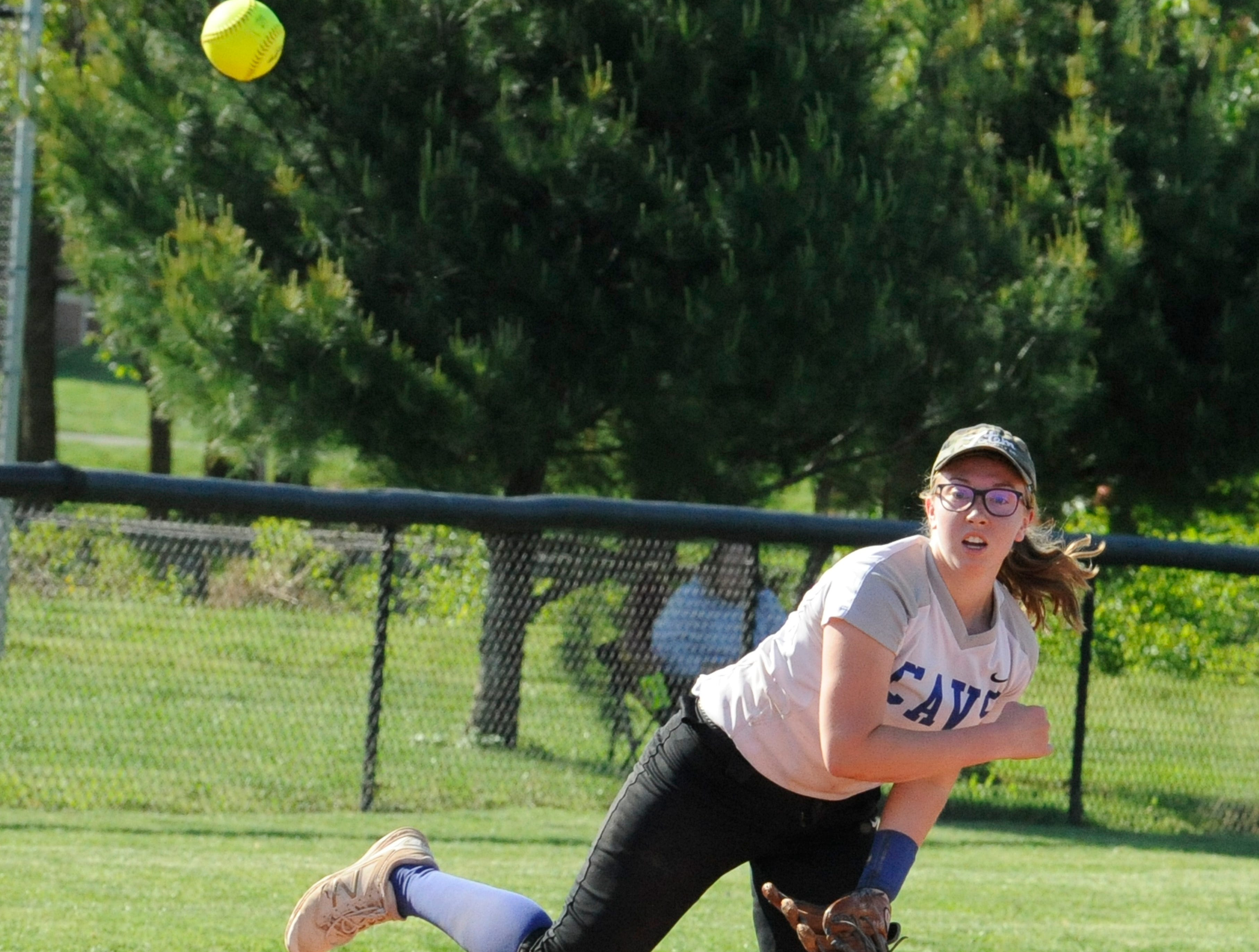 Unioto softball defeated Chillicothe 14-1 Monday night at Unioto High School on May 6, 2019.
