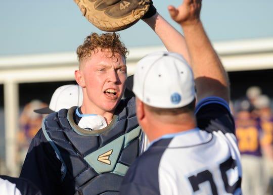 Adena baseball defeated Unioto 6-3 Monday night in Frankfort, Ohio, on May 6, 2019.