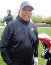 NFL Hall of Famer and former Bengal Anthony Munoz was among the many friends who came out to support the Heavens Game Foundation in the fight against cancer.