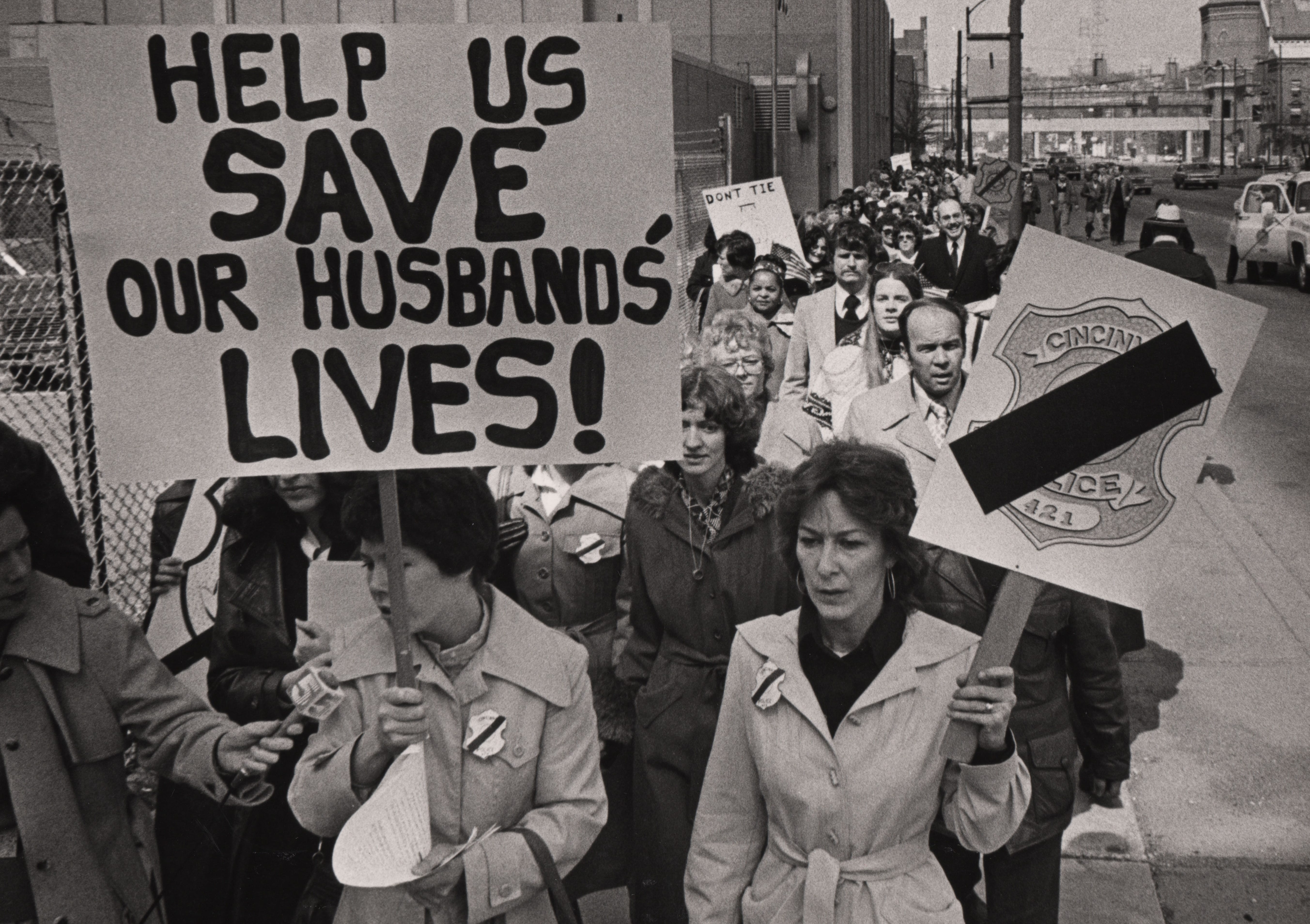 Police officer's wives in Cincinnati rallied together in 1979 to call for bulletproof vests and other protections for their husbands after four police officers were killed in the span of eight months.