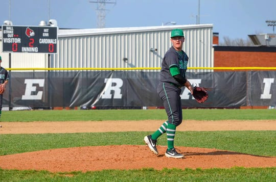 Mason pitcher Dade Hensley was 3-0 for the Comets when he injured his arm against Lakota East