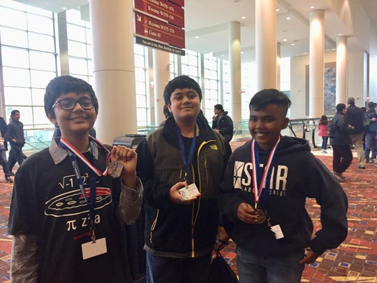 Thomas Edison EnergySmart Charter School students compete in the 2019 MathCon National finals in Chicago.