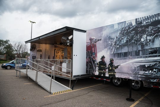 The 9/11 Never Forget Mobile Exhibit will be available for viewing from 3 to 9 p.m. June 14 and 9 a.m. to 3 p.m. June 15 at Harvest Ridge in Millersburg.