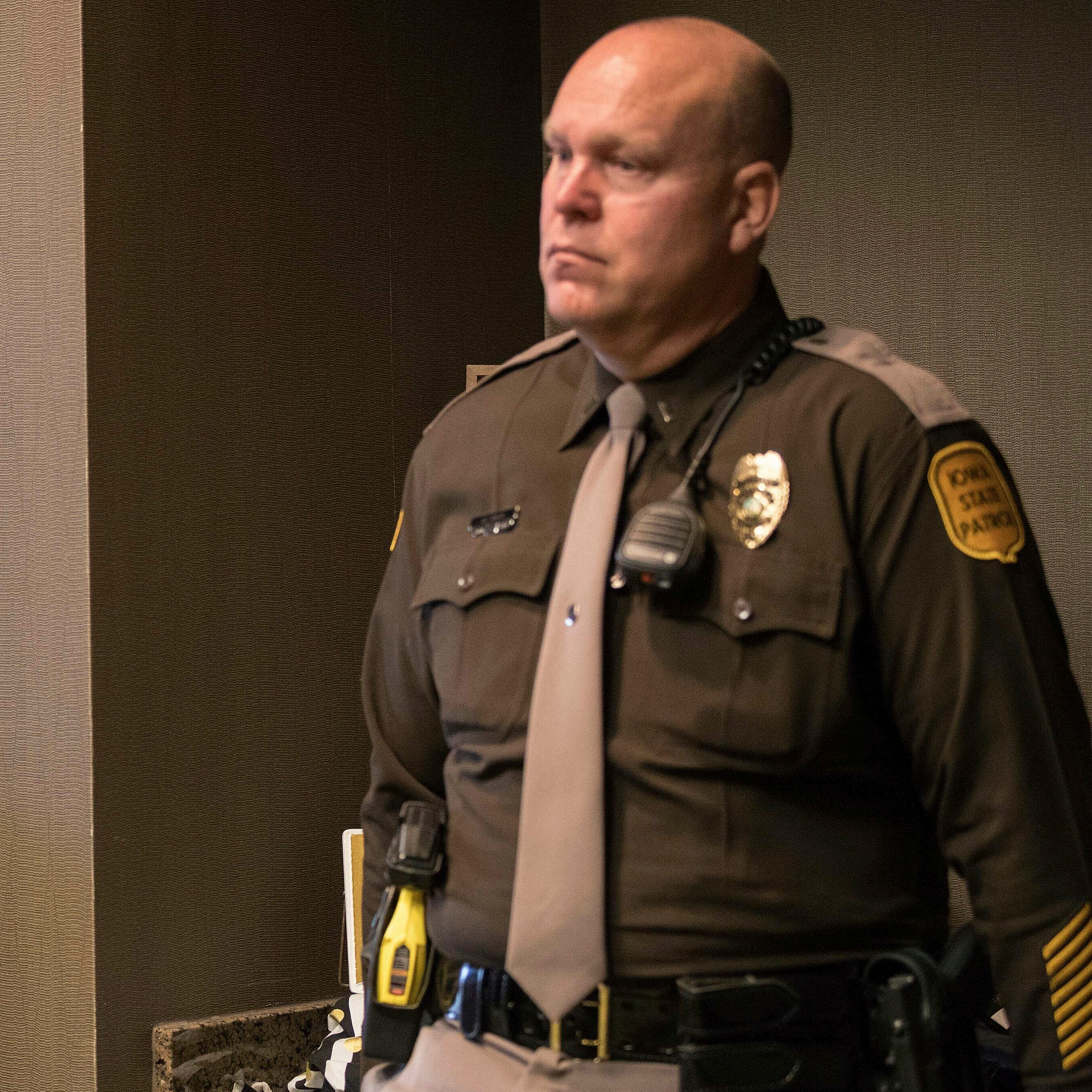 Iowa State Patrol supervisor got state money to move west; whether he did is under investigation