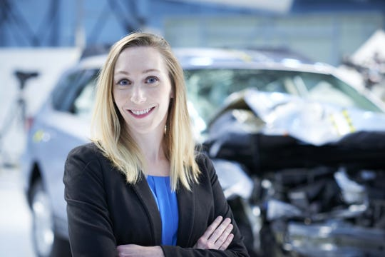 Becky Mueller, IIHS senior research engineer.