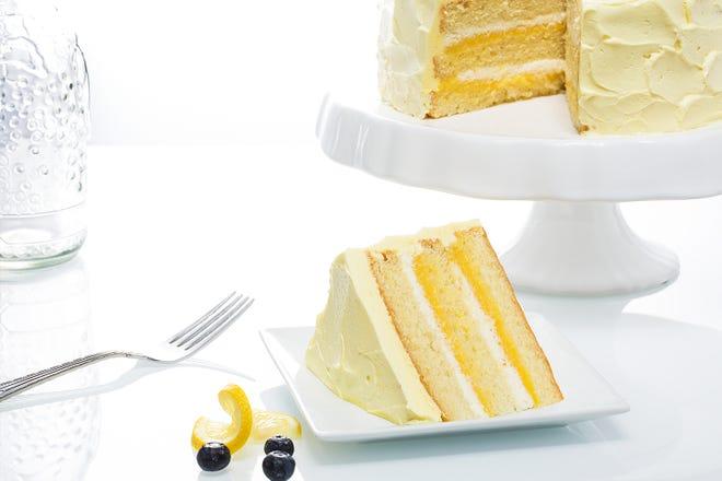 Lemon Velvet Cake from Good Cakes and Bakes in Detroit