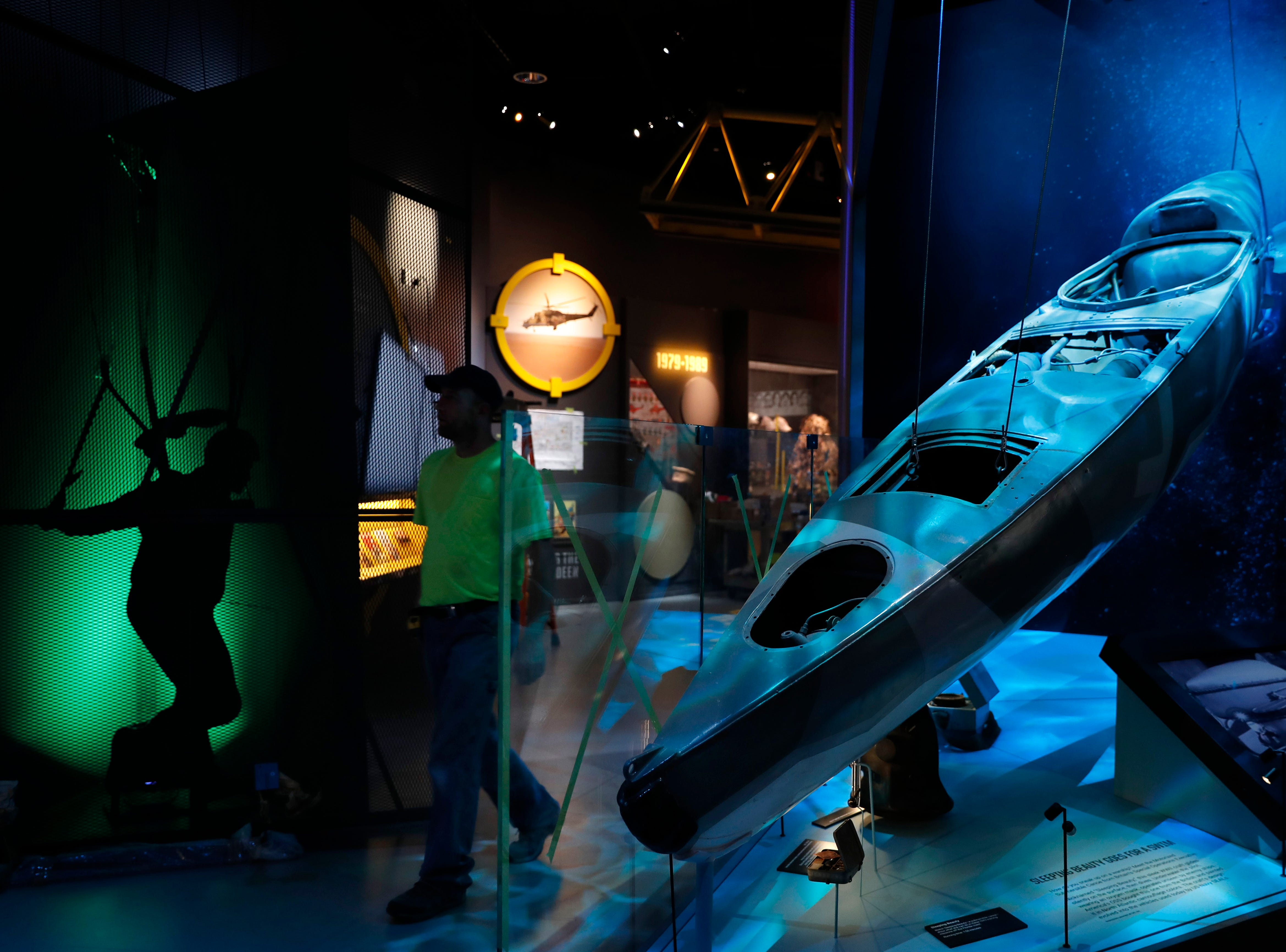 Upon entry, visitors can opt to get a cover identity and mission along with a badge with radio-frequency technology that will recognize them as they walk up to interactive exhibits. Their spy skills are tested throughout the tour and at the end they can find out if they're better suited to be an intelligence officer in the field, for example, or an analyst at CIA headquarters.