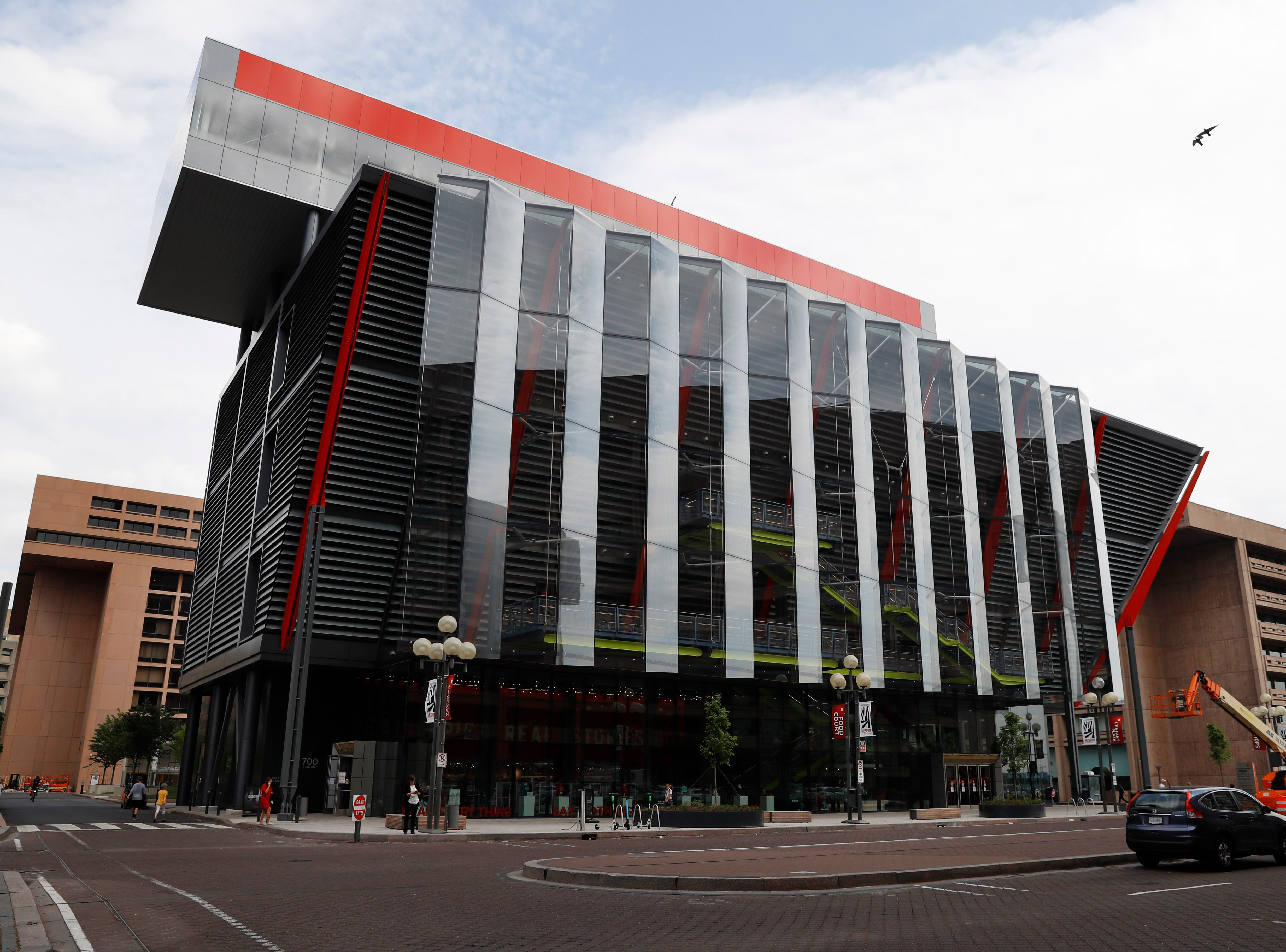 The new International Spy Museum is  in the heart of L'Enfant Plaza, just south of the Smithsonian Castle on the National Mall in Washington.