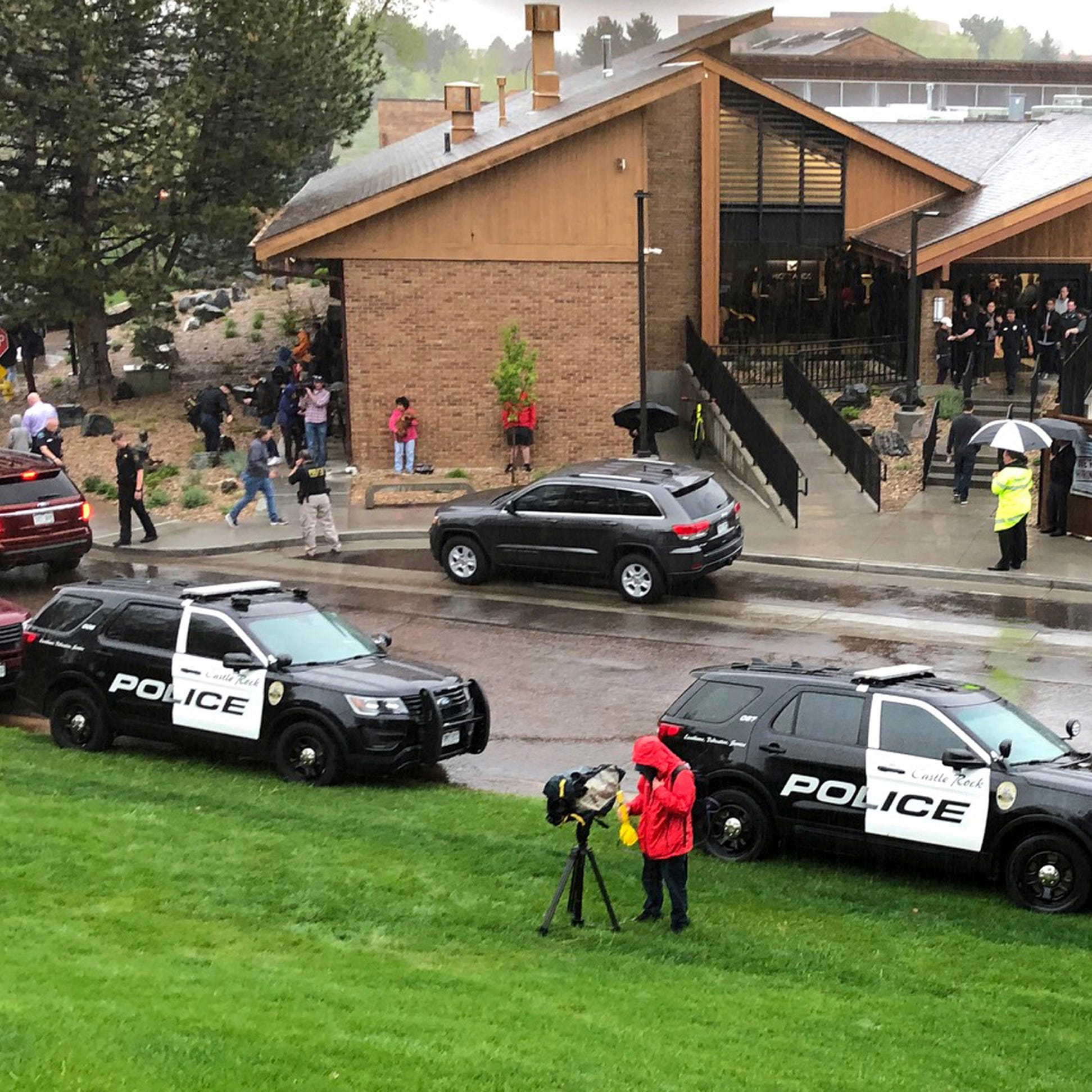 Sheriff: 'Quick response' to shooting at suburban Denver school saved lives
