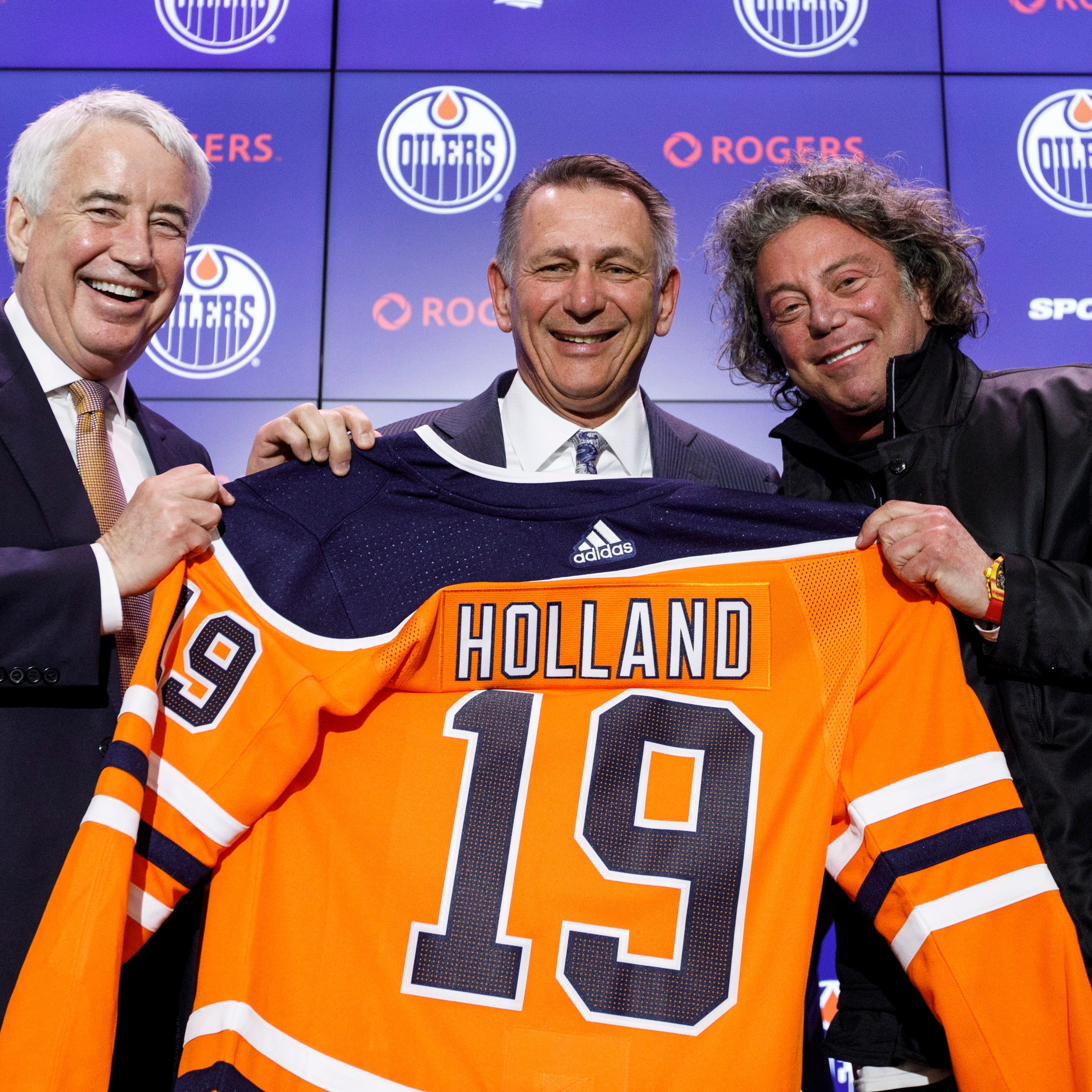 New Oilers GM Ken Holland says recent scouting trip with Wings convinced him to move on