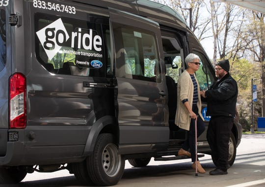 Ford Motor Co. plans to expand its GoRide Health service to multiple cities