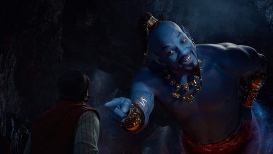 "Will Smith in ""Aladdin."""