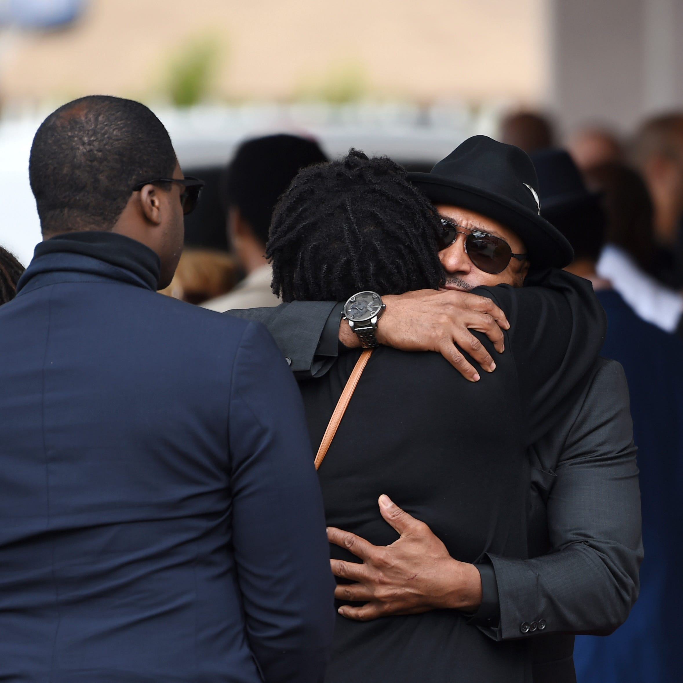 Ice Cube, others mourn director John Singleton at private funeral