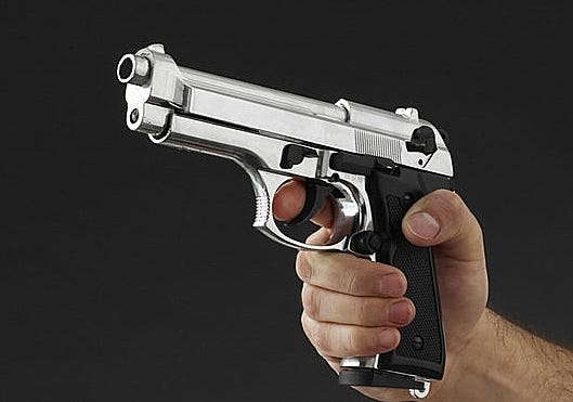 Semi-automatic handgun