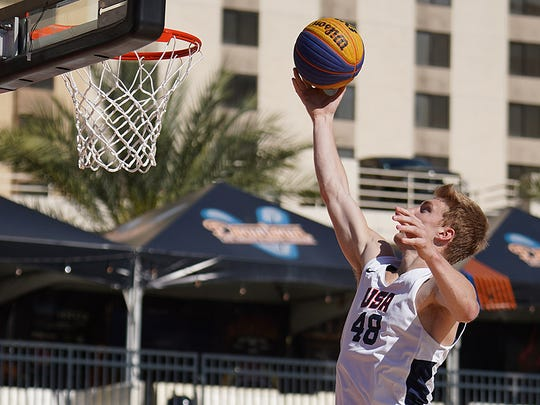 Reitz grad Jaelan Sanford, who played on the third-place team in the USA Men's 3x3 National Championship, signed to play professionally in Lithuania.