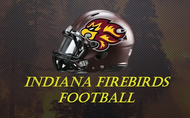 Indiana Firebirds helmet