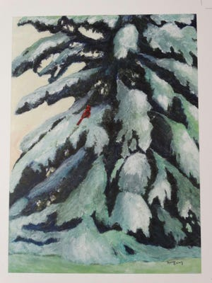 Artist Mary Eiring can be found in the member tent during the event.