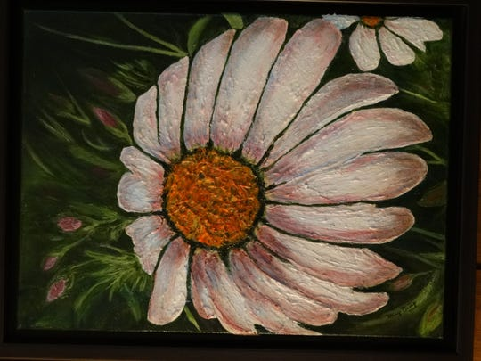 Mary Eiring said she enjoys creating art from what she sees in nature.