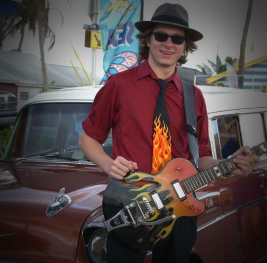 Young Southwest Florida bluesman Mike Imbasciani