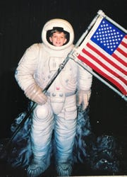 Andrew Rose has been passionate about space and astronauts since he was a child.