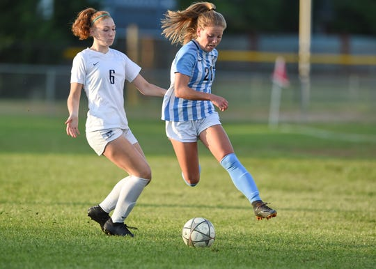JL Mann defeated Clover 2-1 in a Class AAAAA girls Upper State soccer playoff game Monday, May 6, 2019.