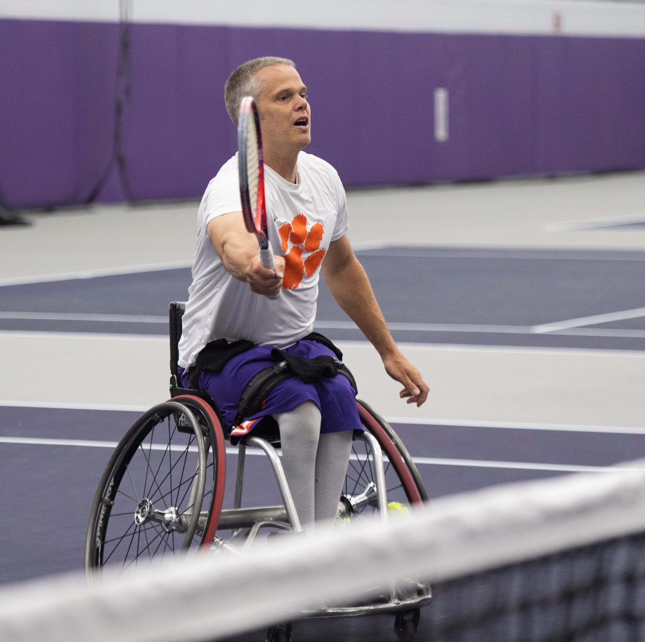 Clemson doubles down on adaptive sports opportunities with new tennis team