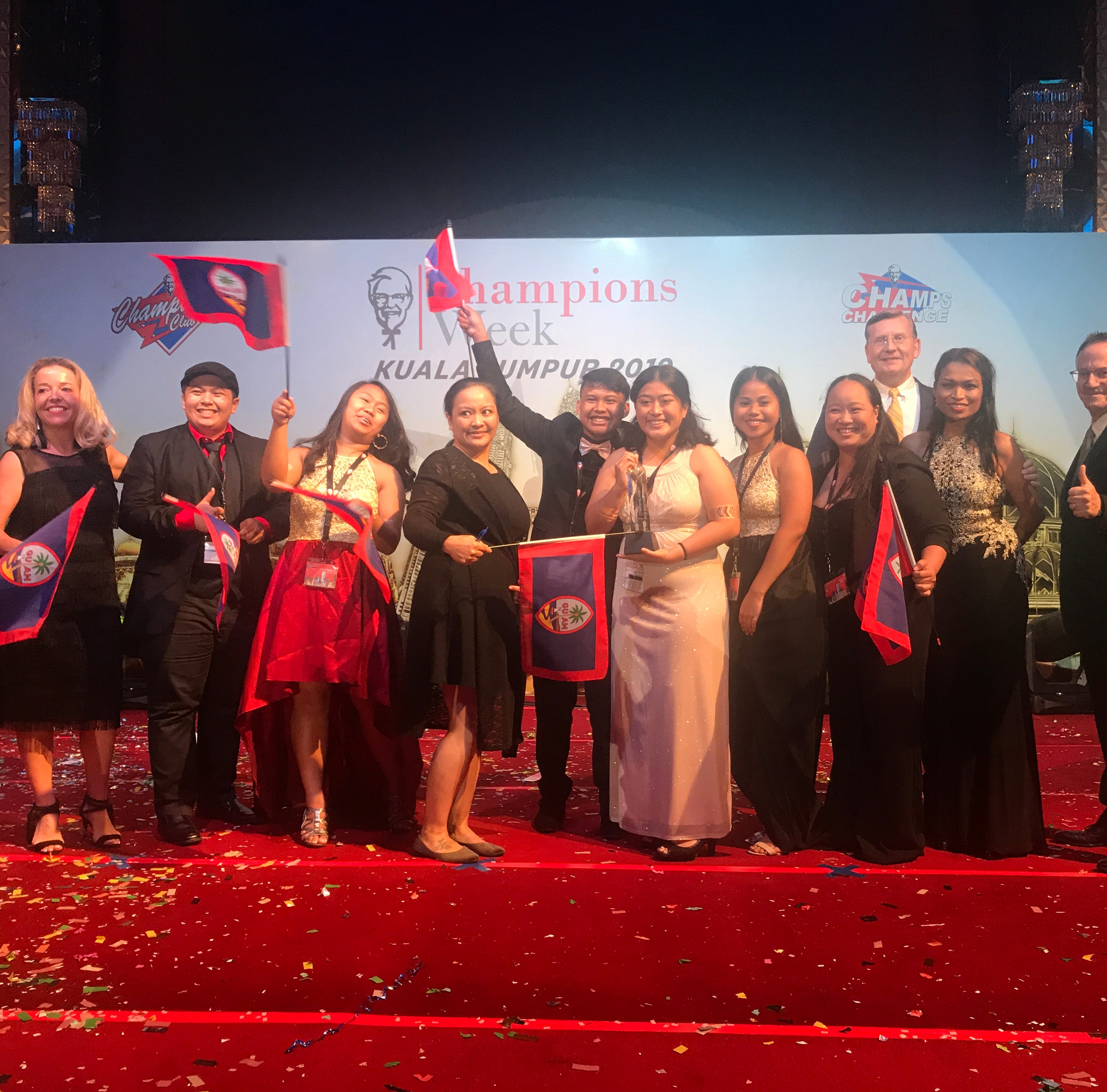 KFC Guam team wins KFC Asia Pacific Competition in Kuala Lumpur