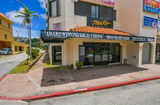 The Meskla Bistro - CHamoru Fusion restaurant can be found on the ground floor of the Grand Plaza, on the corner of San Vitores Road and Happy Landing Road, in Tumon on Tuesday, May 7, 2019.