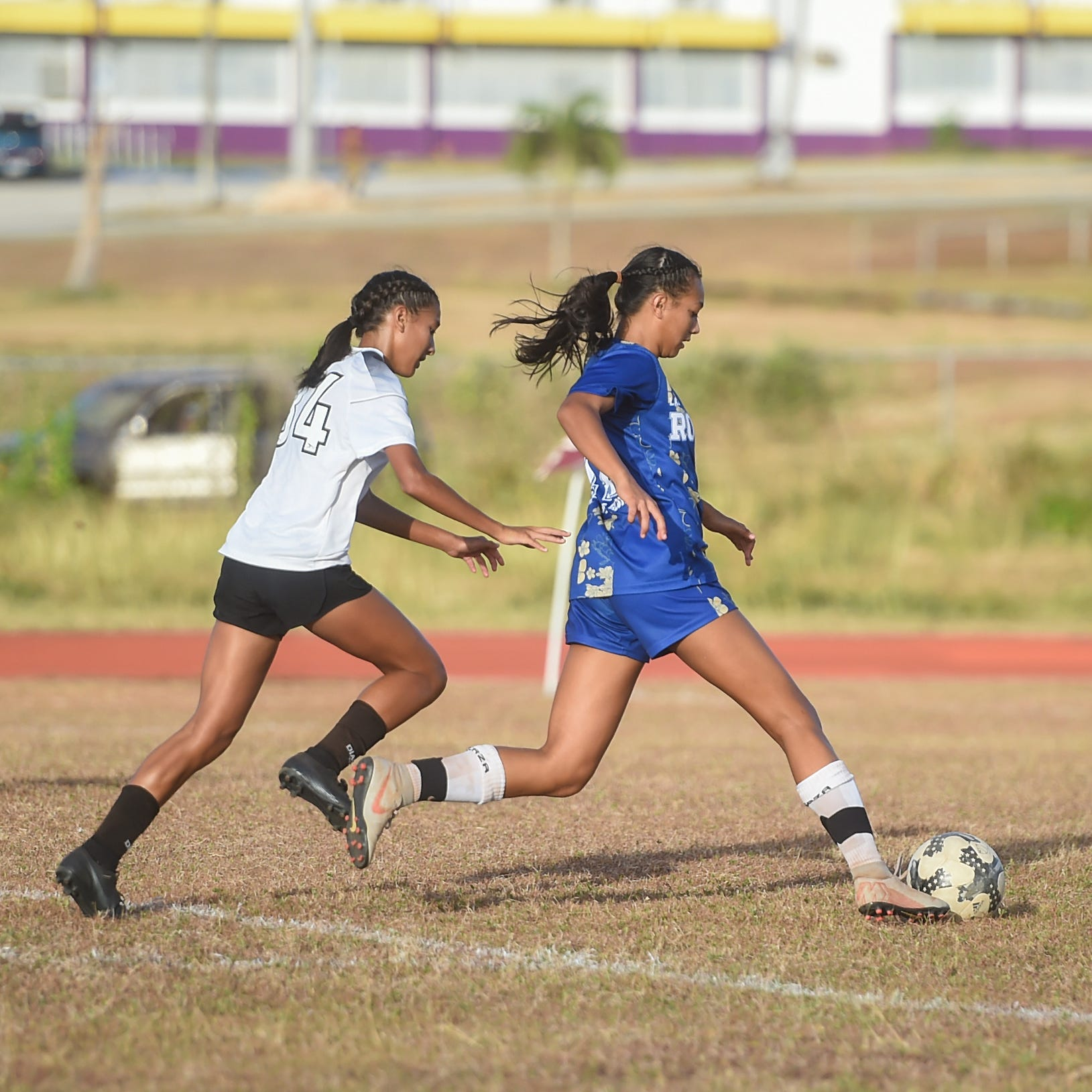 Notre Dame senior Brianne Leon Guerrero named MVP of Girls Soccer All-Island