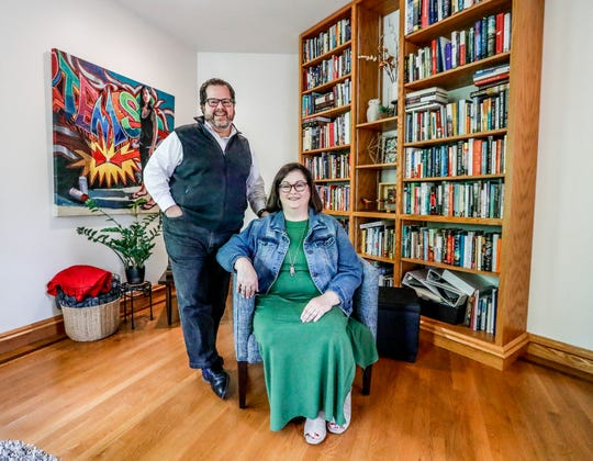 Ed and Sherri Torres, foster parents with The Villages of Indiana, are shown here in their Indianapolis home, Thursday, May 2, 2019. The couple  have readied a number of children to be adopted.