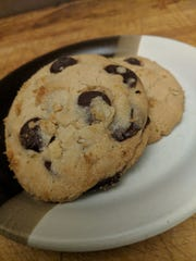 """These """"not health food"""" cookies contain both butter and oil as well as brown and white sugar."""