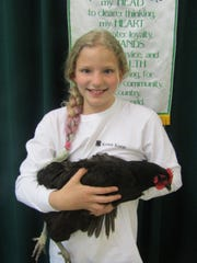 Devyn of Cortland is a member of the Little Bunny Foo Foo 4-H Club and a Kritter Kamp participant.