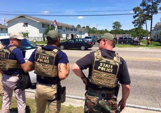 Biloxi Officer Shot: Suspect In Custody After Mississippi