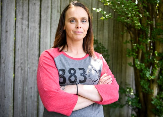 Brittany Rhodes is a former client who hopes to become an official counselor at JACOA to help others out of the bondage of addiction she once dealt with in her own life.