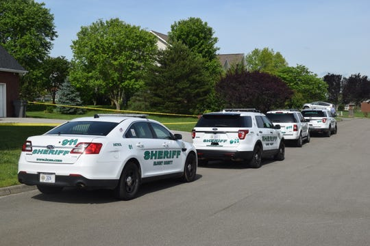 Blount County Sheriff's Office deputies are investigating the possible drowning of two children at a home on Greenfern Trail in Seymour on May 7, 2019.