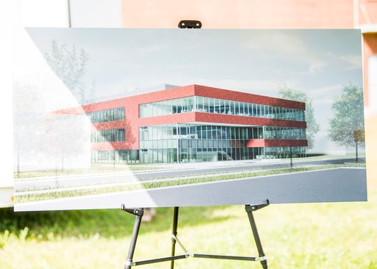 Renderings show the Translational Research Capability facility at Oak Ridge National Laboratory on Tuesday, May 7, 2019.